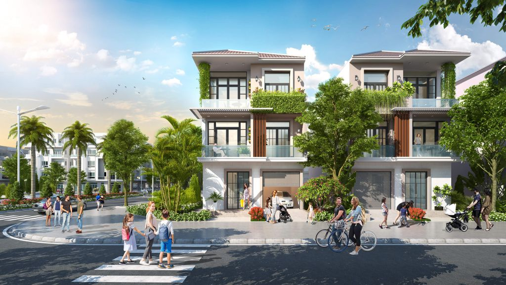 Biệt Thự Hana Garden City